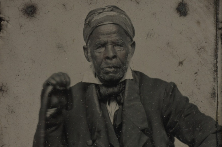 Omar ibn Said, born in Senegal in 1770, held onto Islamic practices while enslaved for decades in the US [Beinecke Rare Book and Manuscript Library, Yale University]